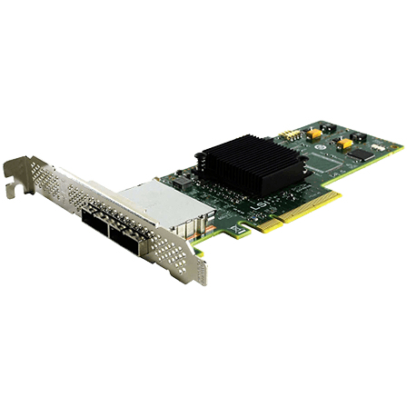 6Gbps SAS HBA Card PCIe Full Height