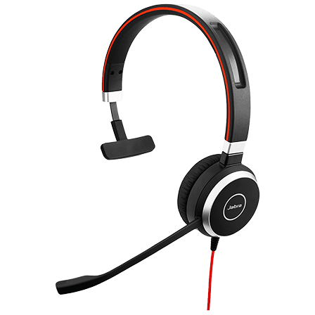 Jabra EVOLVE 40 MS Mono USB Headband