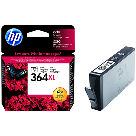 HP No. 364 XL High Yield blekhylki - Photo Black