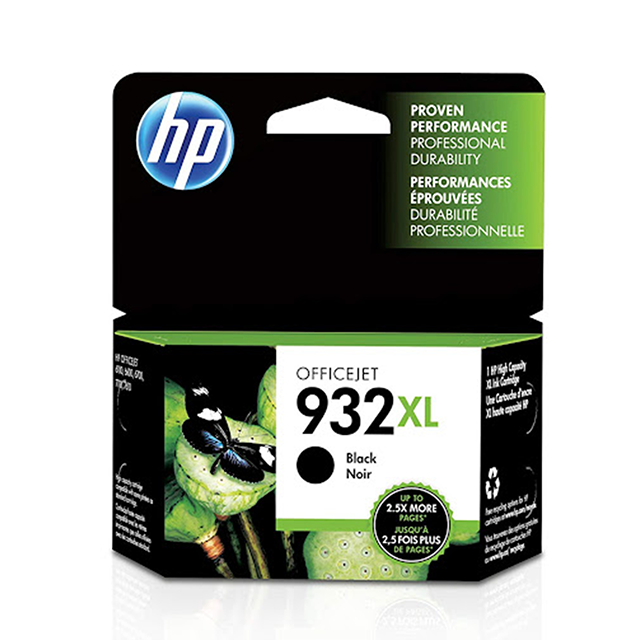 HP No. 932XL blekhylki - black
