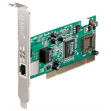 D-Link Gigabit Ethernet PCI FP/LP netkort