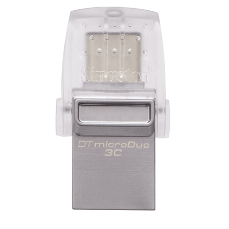 Kingston 64GB DT MicroDuo 3C USB 3.0/Type C USB