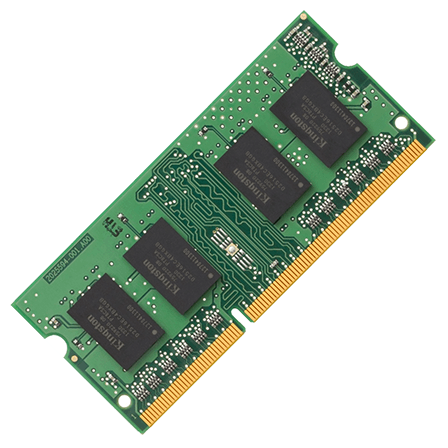 Kingston 32GB DDR4 2666MHz SODIMM vinnslumi