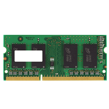 Kingston 8GB DDR3 1600MHz SODIMM vinnsluminni