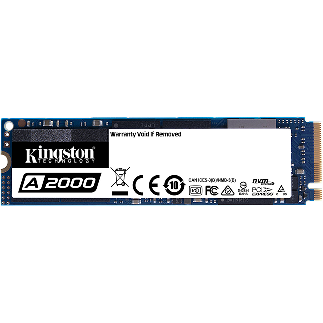 Kingston 500GB SSD A2000 M.2 2280 PCIe NVMe