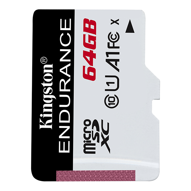 Kingston Endurance 64GB microSD C10 UHS-I U1