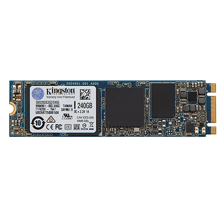 Kingston 240GB SSD M.2 6Gbps (Single Side)