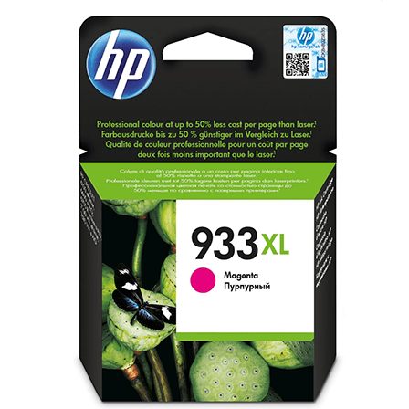 HP No. 933XL blekhylki - magenta