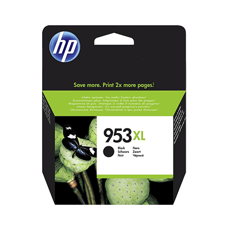 HP No. 953XL blekhylki - black